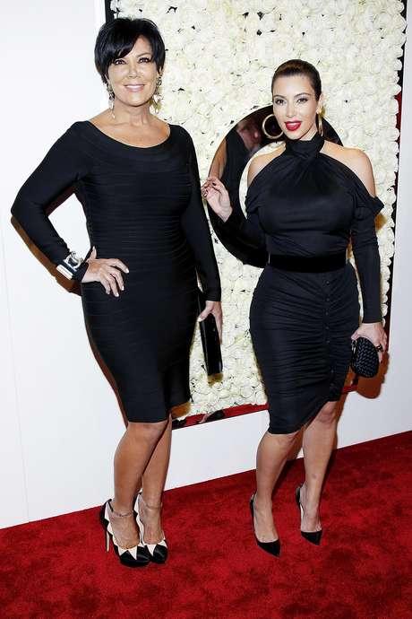 Kris Jenner y Kim Kardashian Foto: Getty Images