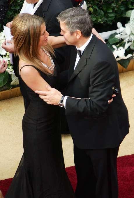 George Clooney y Jennifer Aniston Foto: Getty