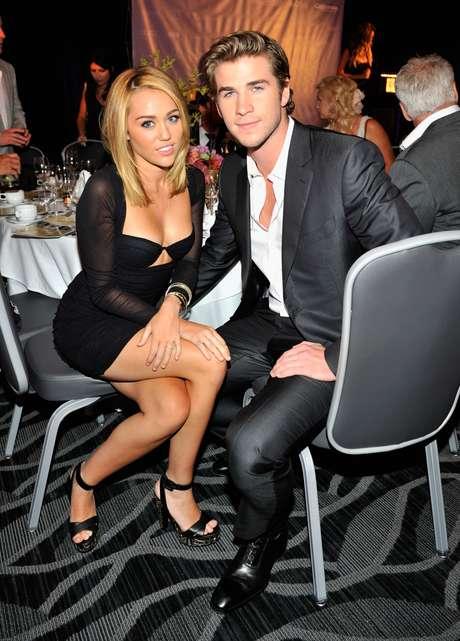 Miley Cyrus y Liam Hemsworth están pronto a casarse. Foto: Getty Images