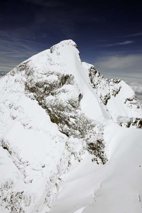 Five climbers died in an accident in the Swiss mountains Tuesday. Foto: AP in English