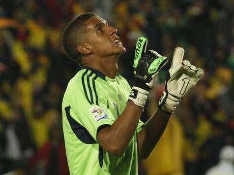 Cristian Bonilla fue el arquero titular de Colombia en el pasado Mundial Sub 20 que se jugó en el país Foto: EFE