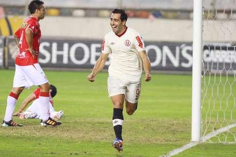 Ximénez marcó dos y lleva once en el campeonato. Foto: Miguel Bustamante/Terra Perú