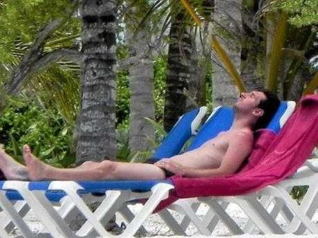 Lionel Messi se relaja en Miami. Foto: AP