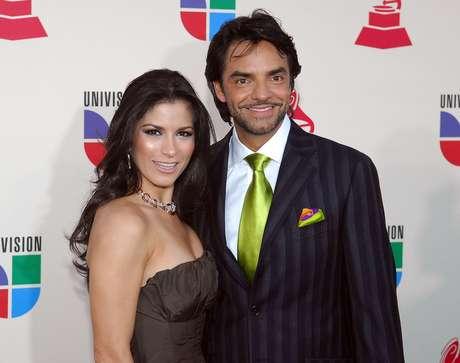 Después de seis años Eugenio Derbez y Alessandra Rosaldo contrajeron matrimonio.  Foto: Getty Images