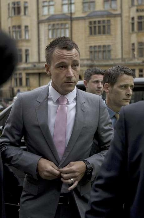 The Chelsea defender began his trial for racial abuse during a match. Foto: Matt Dunham / AP