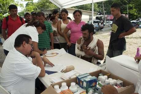 Las autoridades estatales y municipales han sido rebasadas por las necesidades básicas de los inmigrantes, que no han sido detenidos ni deportados. Foto: EFE