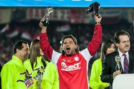 Gerardo Bedoya, protagonista de Santa Fe en el título de Liga Postobón 1 - 2012. Foto: John Paz / Terra