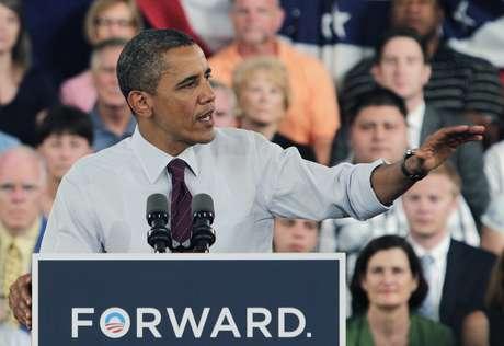 El mandatario hizo el comentario el viernes durante un discurso ante sus partidarios en Roanoke, Virginia. Foto: Getty Images