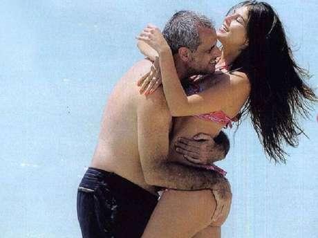 Rial y Loly, a puro abrazo y afecto. Foto: Revista Gente