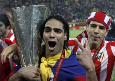 Radamel Falcao tweeted his six favorite goals. Foto: Getty Images