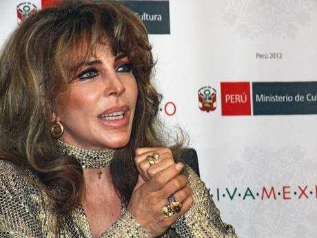 Verónica Castro en Lima. Foto: Patricia Altamirano / Terra Perú