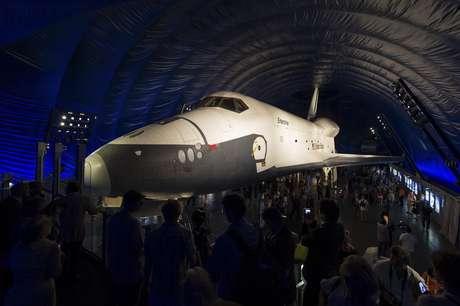 El Enterprise, una verdadera atracción del Museo de NY. Foto: AP