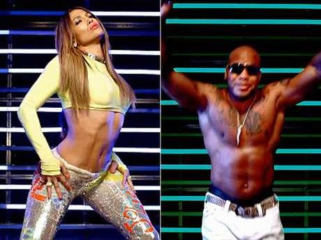 J. Lo y Flo-Rida enseñan mucha piel en video 'Goin' In'. Foto: Video Oficial