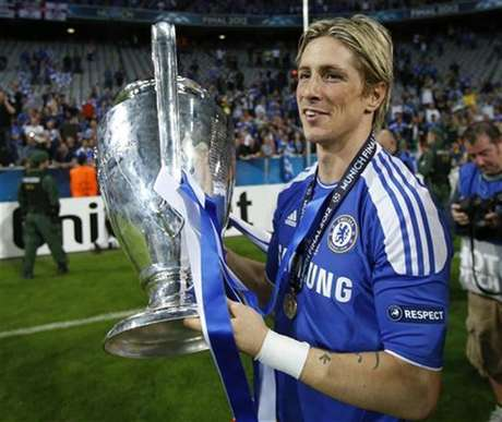 Fernando Torres believes he can fill Drogba's role as a leader at Chelsea. Foto: Wolfgang Rattay / Reuters
