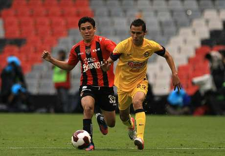 América was able to come back to win the game.  Foto: Mexsport