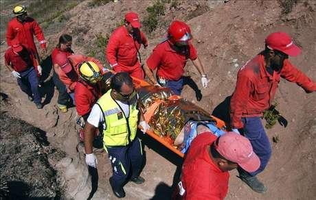 Un español herido de gravedad al caer de 6 metros de altura en una playa lusa Foto: Agencia EFE / EFE en español