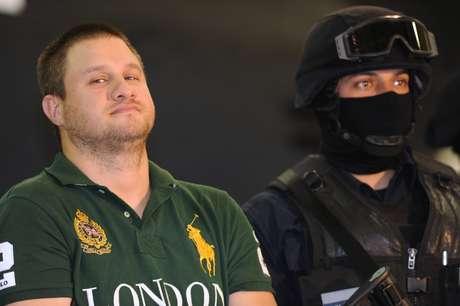 """Edgar Valdez Villareal, alias """"La Barbie"""" fue detenido el 31 de agosto de 2010. Foto: EFE"""