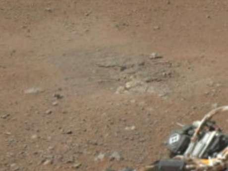 La Nasa dio a conocer la primera imagen panorámica a color  que da una visión horizontal de 360 grados de lo que están viendo las cámaras que hacen de ojos del robot que está mostrando Marte como nunca antes. Foto: Nasa