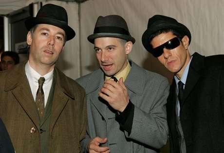 Beastie Boys con Adam Yauch (MCA), al extremo izquierdo. Foto: Getty Images