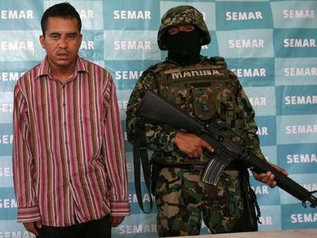 Juan Carlos Hernández Pulido, 'La Bertha', presunto jefe operativo y sicario del cartel Jalisco Nueva Generación. Foto: EFE en español