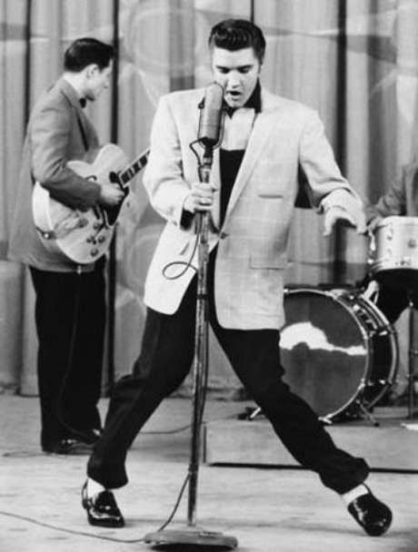 Ya son 35 años sin la leyenda Elvis Presley. Foto: Getty Images