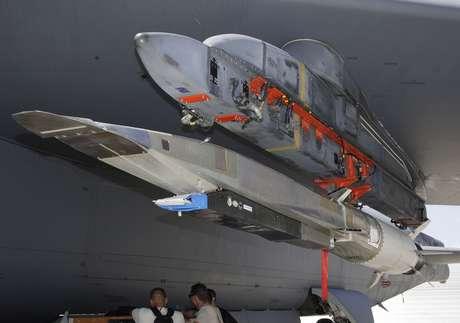 El vuelo de prueba X-51A ha sido el tercer experimento de un programa que comenzó en el año 2004. Foto: Getty Images
