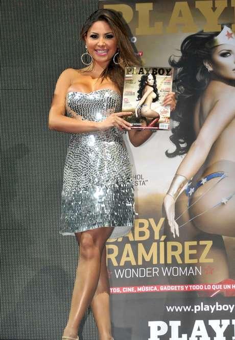 Gaby Ramírez perderá sus curvas por una buena razón: será mamá. Foto: MezcalENT