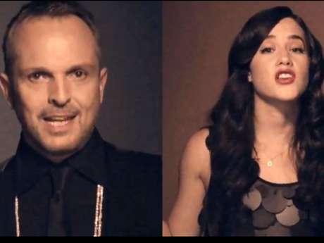 Miguel Bosé y Ximena Sariñana recuperan el primer sitio de las canciones más escuchadas en México con el tema 'Aire Soy'. Foto: Canal oficial de Miguel Bose, YouTube