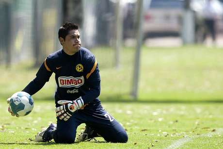 The goalkeeper has been cleared to do specific exercises.  Foto: Mexsport