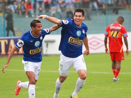 Rengifo marcó su décimo cuarto gol en el Descentralizado Foto: Miguel Ángel Bustamante / Terra