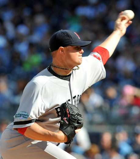 John Lester powered the Red Sox past rival Yankees. Foto: Getty Images