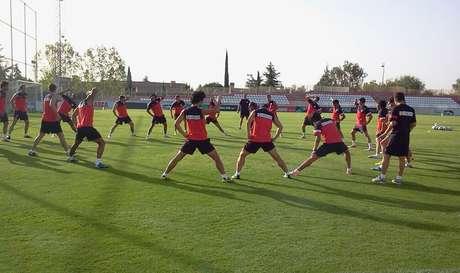 Entrenamiento Atlético de Madrid en Majadahonda Foto: Atlético de Madrid