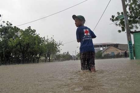 Tormenta Isaac ya hizo estragos en su paso por República Dominicana Foto: AP