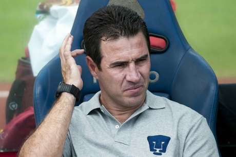 Joaquín del Olmo could not bring together the talent on the Pumas roster.  Foto: Mexsport