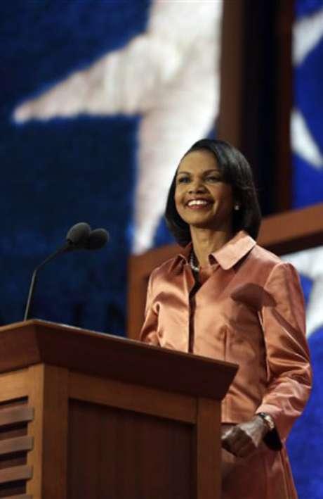 Condolezza Rice, ex secretaria de Estado de EE.UU. Foto: AP