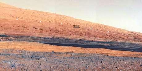 El Curiosity ya lleva un mes en su exitosa misión a Marte. Foto: AFP