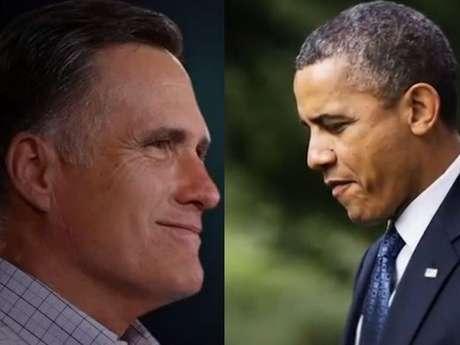 Los aspirantes a la presidencia de Estados Unidos, Barack Obama y Mitt Romney Foto: Reproducción