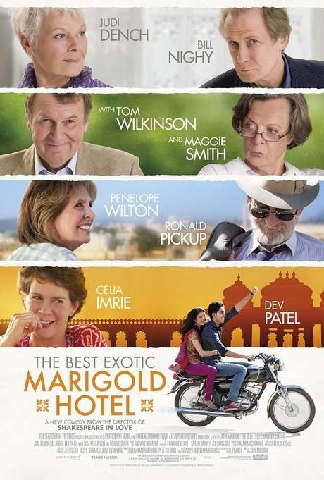 El exótico Hotel Marigold. Foto: Difusión