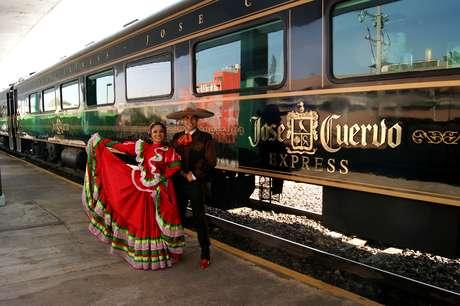 José Cuervo Express será parte de una gran fiesta mexicana en un recorrido especial el sábado 15 de septiembre para celebrar a México. Foto: José Cuervo Express