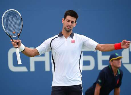 Novak Djokovic had gotten off to a horrible start in the semifinals.  Foto: Getty Images