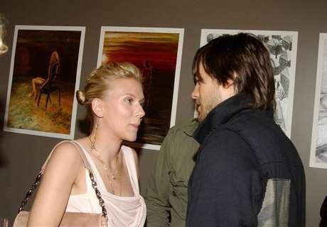Scarlett Johansson y Jared Leto. Foto: Getty Images.