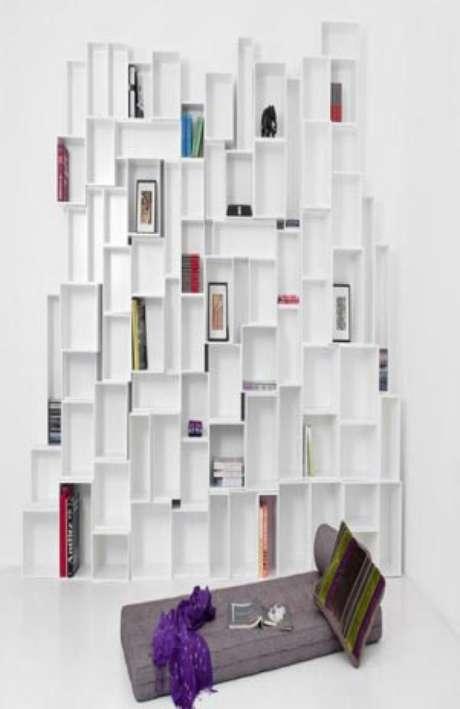 Estanterías para espacios que sólo dependen del ingenio y la creatividad del interesado. Foto: archiexpo.com