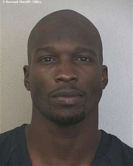 NFL player Chad Johnson is shown in this police photograph released to Reuters August 13, 2012. Foto: Handout / Reuters