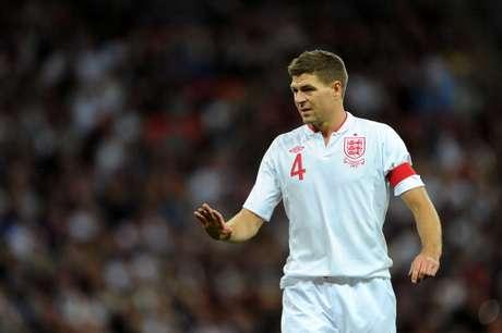 Steven Gerrard es un emblema del equipo inglés. Foto: Getty Images