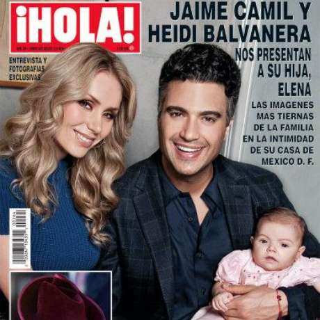 Foto: Jaime Camil y Heidi Balvanera / Hola / Terra