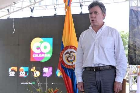El presidente Juan Manuel Santos dijo que por parte del Gobierno habrá toda la determinación y la buena voluntad de llegar a un acuerdo de paz. Foto: Presidencia
