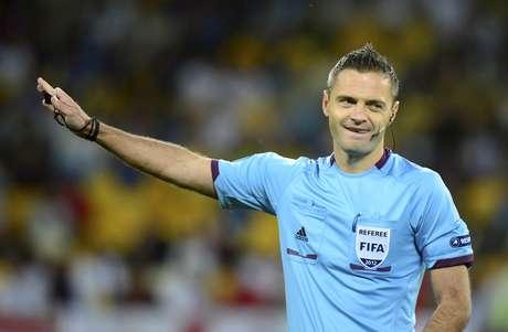 El esloveno Damir Skomina será el encargado de llevar a buien puerto el duelo Real Madrid-Manchester City, en el estadio Santiago Bernabeu. Foto: AP