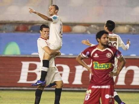 Calcaterra llegó al club esta temporada. Foto: Miguel Ángel Bustamante / Terra