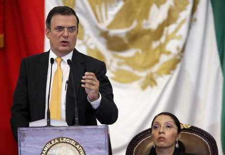 El jefe del Gobierno del Distrito Federal, Marcelo Ebrard, realizó el anuncio durante su VI y último informe de gobierno  Foto: Notimex