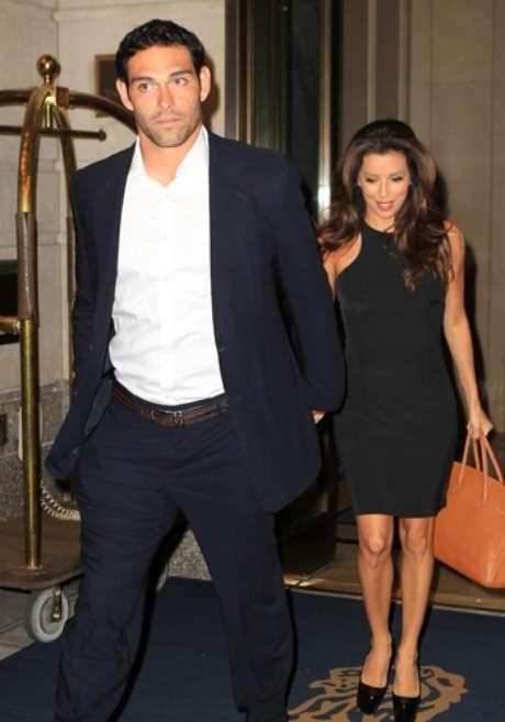 Eva Longoria y Mark Sánchez ya no ocultan su amor. Foto: Gtres